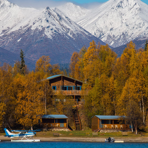 Lodging at Lake Clark